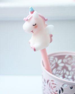 Stylo licorne douceur rose