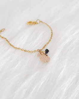 Bracelet ananas perle Swarovski