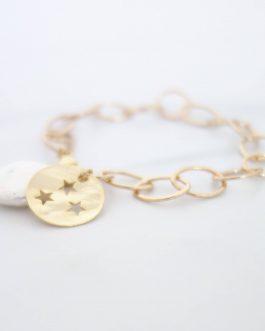 Bracelet nacre étoile