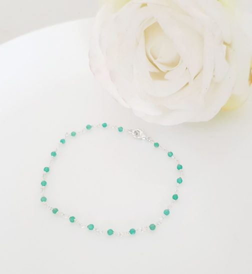bracelet onyx argent 925