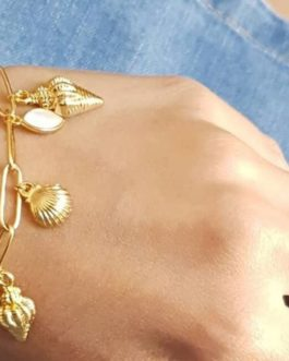 Bracelet pampilles coquillages