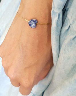 Bracelet cœur Jaspe
