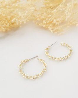 Boucles d'oreilles chaîne